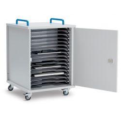 LapCabby Lyte 16 Single Door Mobile  (Metal Shelf)