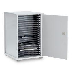 LapCabby Lyte 20 Single Door (Metal Shelf)