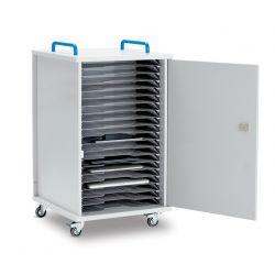 LapCabby Lyte 20 Single Door Mobile (Metal Shelf)