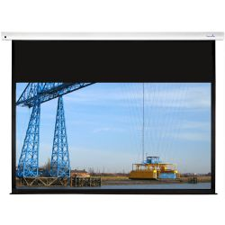 Sapphire Electric Screen 170 x 107cm - Trigger and IR remote