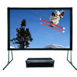 Sapphire Rapidfold 365 x 228cm - Front Projection