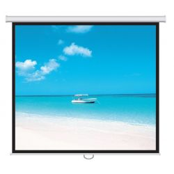Screen Labs Rollerwall Manual Pull-Down Screen 180cm x 180cm