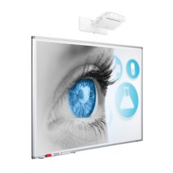 SMIT Projection Whiteboard 192 x 120cm (Mica)