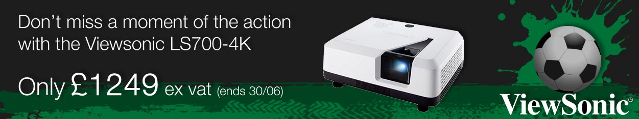 Viewsonic LS700-4K projector offer
