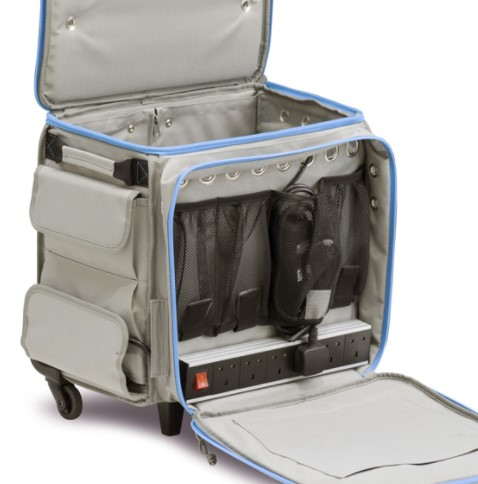 Lapcabby GO2+ case front compartment