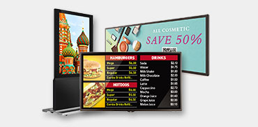Large Digital Signage Displays