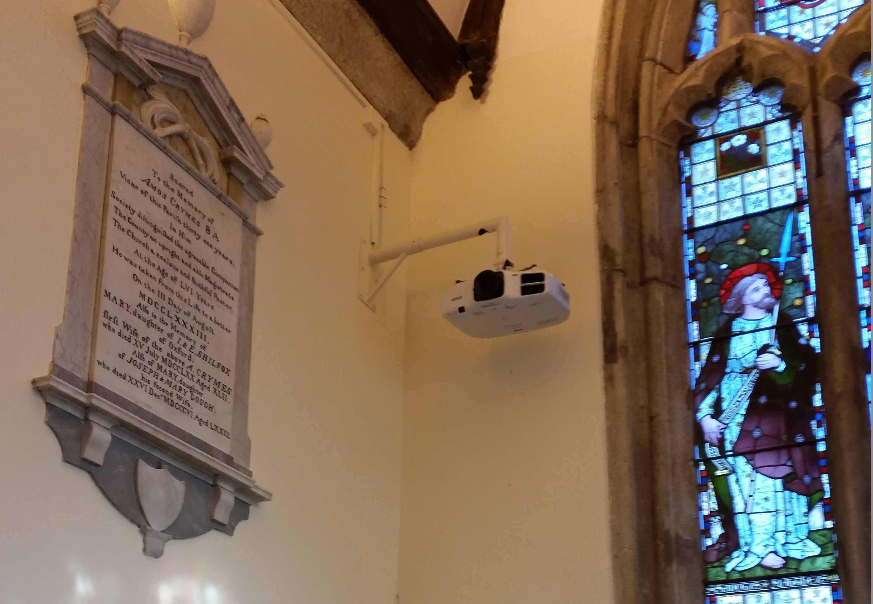 Church Projector Installation