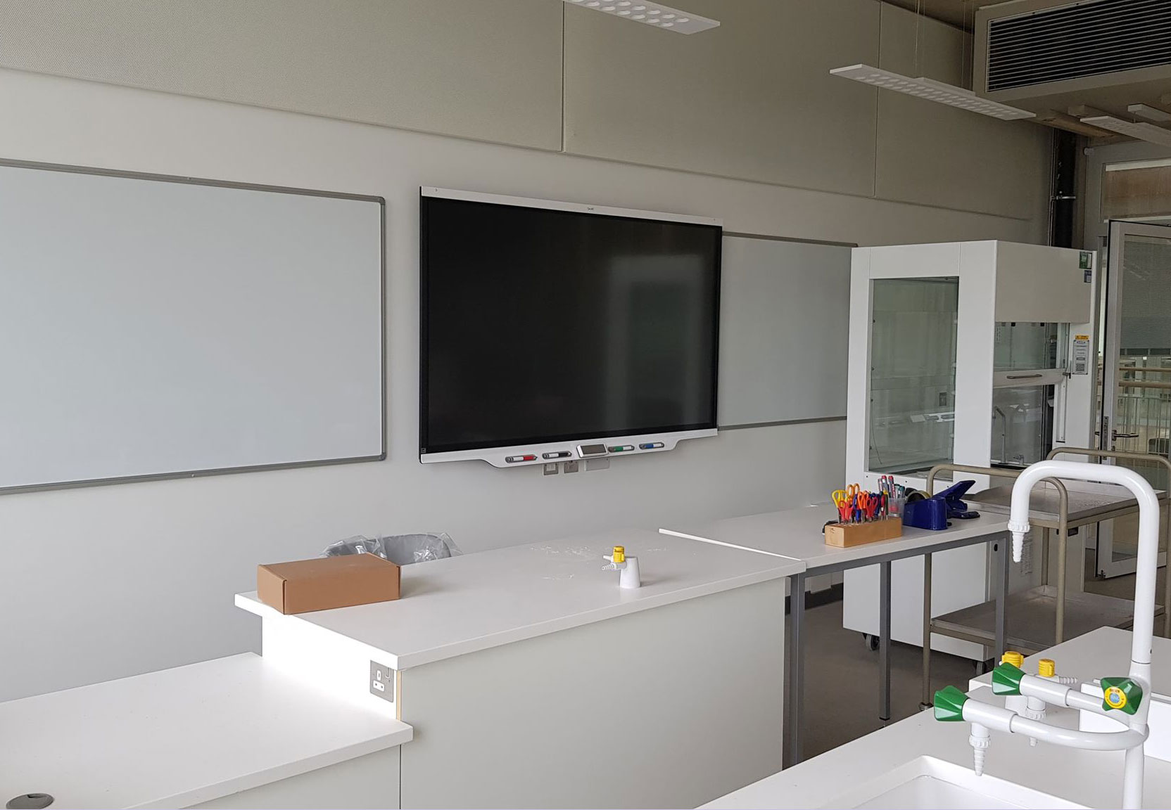 Smartboard Interactive Display Installation