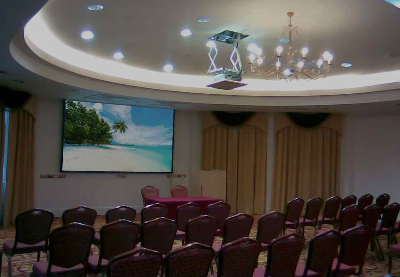 Conference room with control system