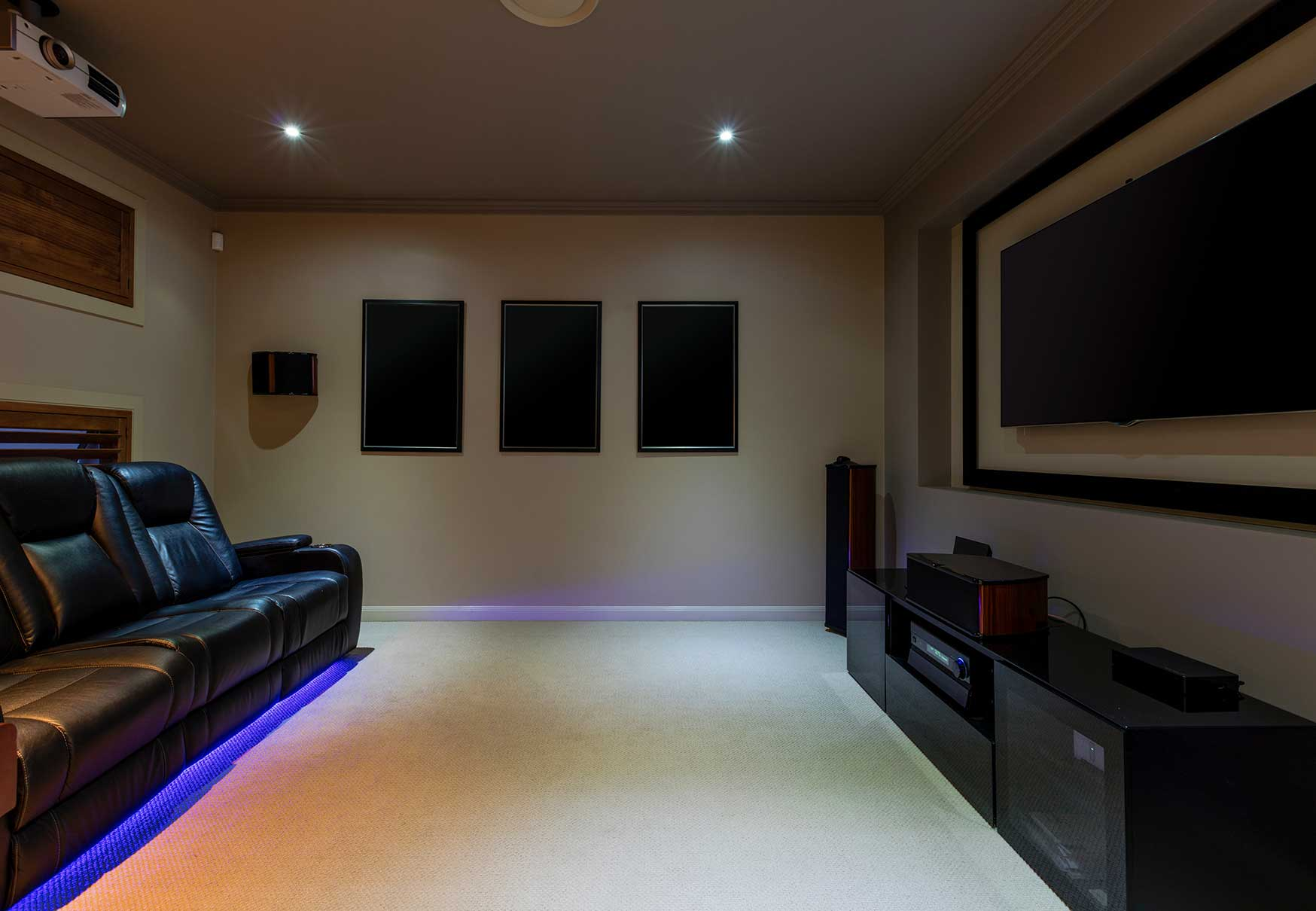 Dedicated home cinema